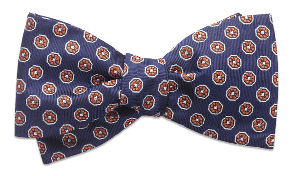 Randolph Orange Self-Tie Bow Tie