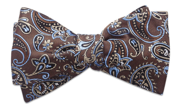 Shelburne Brown Pre-Tied Bow Tie