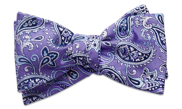 Shelburne Purple Self-Tie Bow Tie