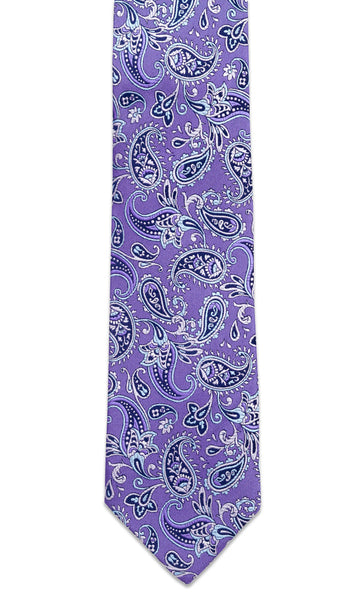 Shelburne Purple Necktie