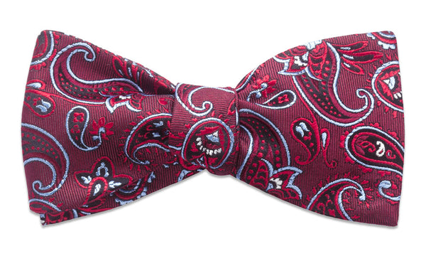 Shelburne Red Self-Tie Bow Tie