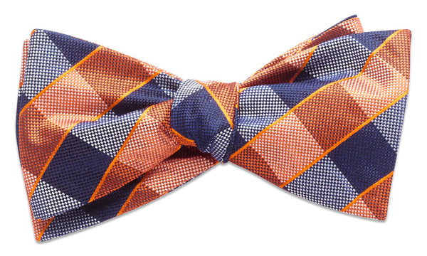 Shoreham Orange Self-Tie Bow Tie