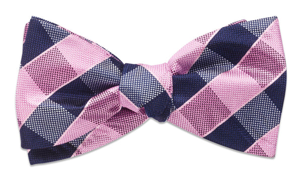 Shoreham Pink Self-Tie Bow Tie
