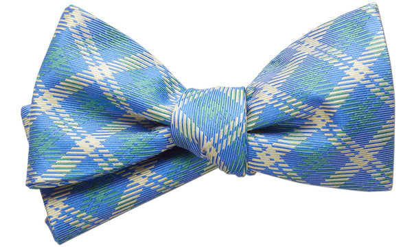 Fairlee Blue Self-Tie Bow Tie
