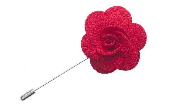 Red Lapel Pin