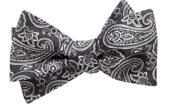 Addison Black Self-Tie Bow Tie