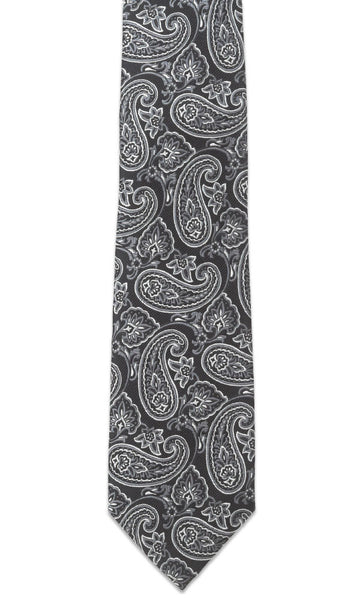 Addison Black Necktie