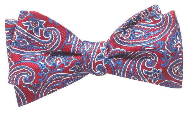 Addison Wine Self-Tie Bow Tie