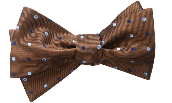 Bolton Brown Self-Tie Bow Tie