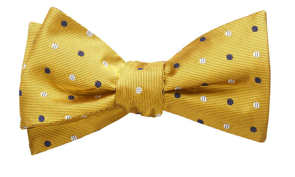 Bolton Gold Self-Tie Bow Tie