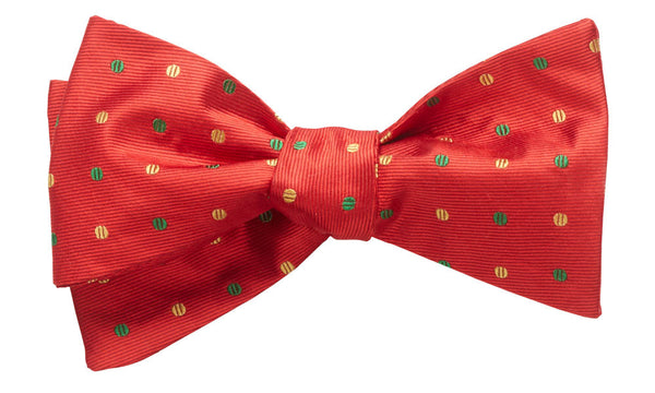Bolton Red Self-Tie Bow Tie