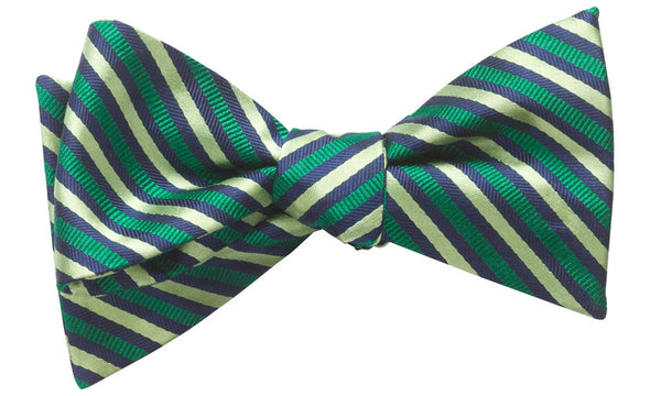Bristol Green Self-Tie Bow Tie