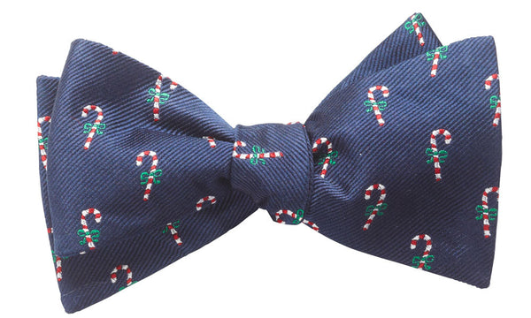 Candy Canes Self-Tie Bow Tie
