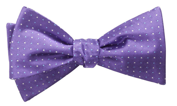Cambridge Purple Pre-Tied Bow Tie