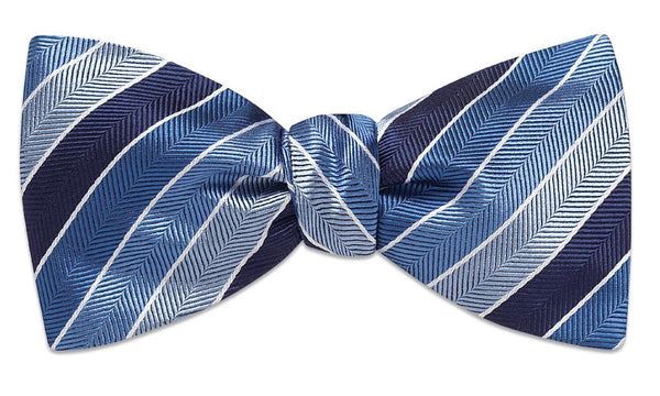Dunmore Blue Self-Tie Bow Tie