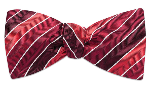 Dunmore Red Self-Tie Bow Tie