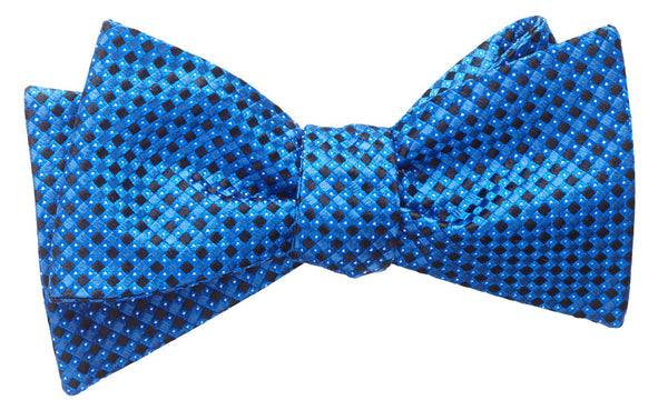 Hancock Navy Self-Tie Bow Tie