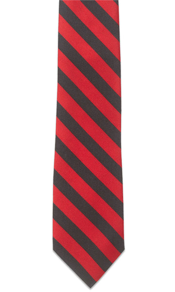 Montgomery Bright Red Necktie