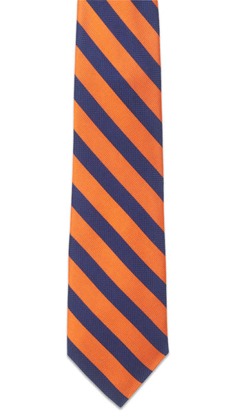 Montgomery Orange Necktie