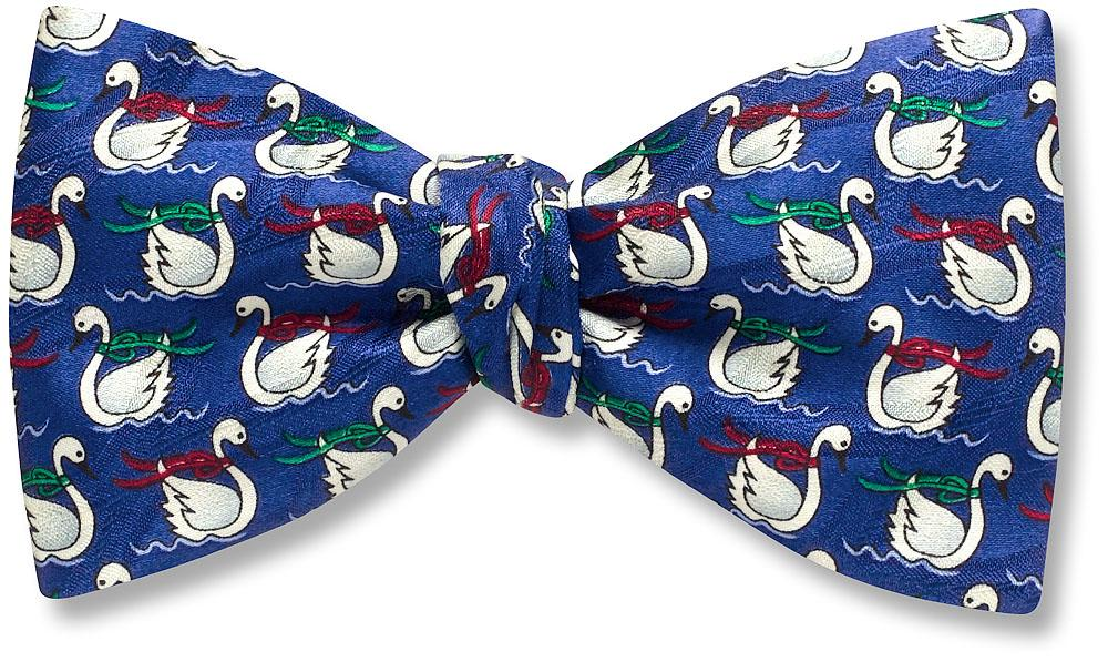 Swan Lake Self Tie Bow Tie
