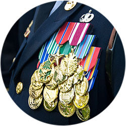 Miltary Medals for All Branches