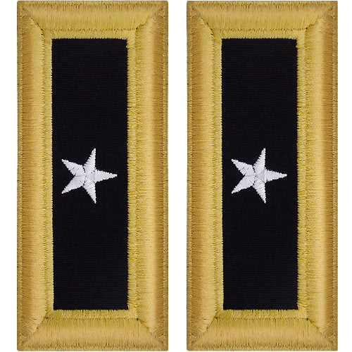 O-7 Brig. General Army Dress Blue Shoulder Board Rank (Male Size) - GENERAL OFFICER