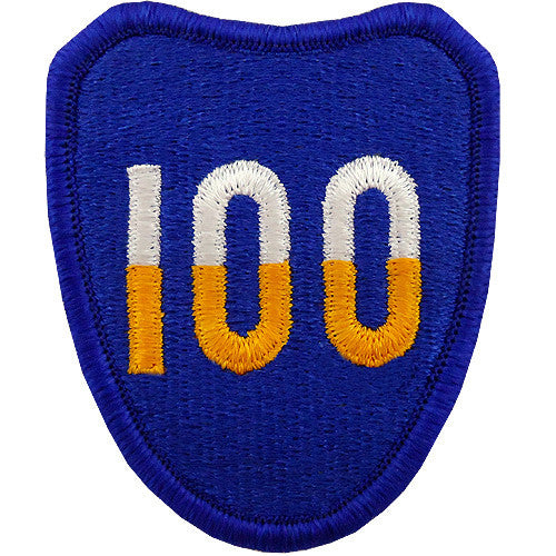100th Division (Training) Class A Patch