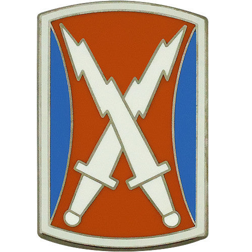 106th Signal Brigade Combat Service Identification Badge