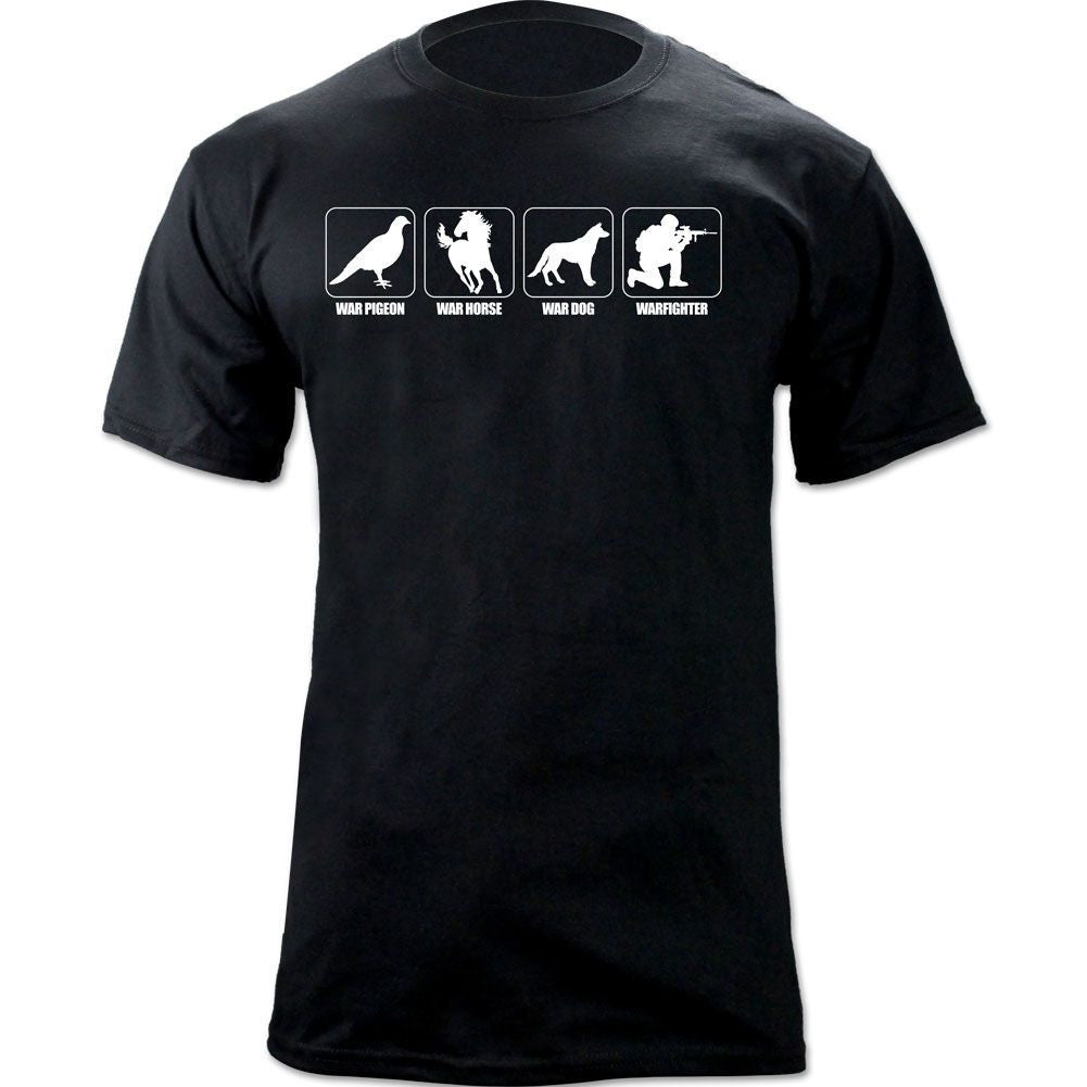 War Dog Warfighter T-Shirt - Black