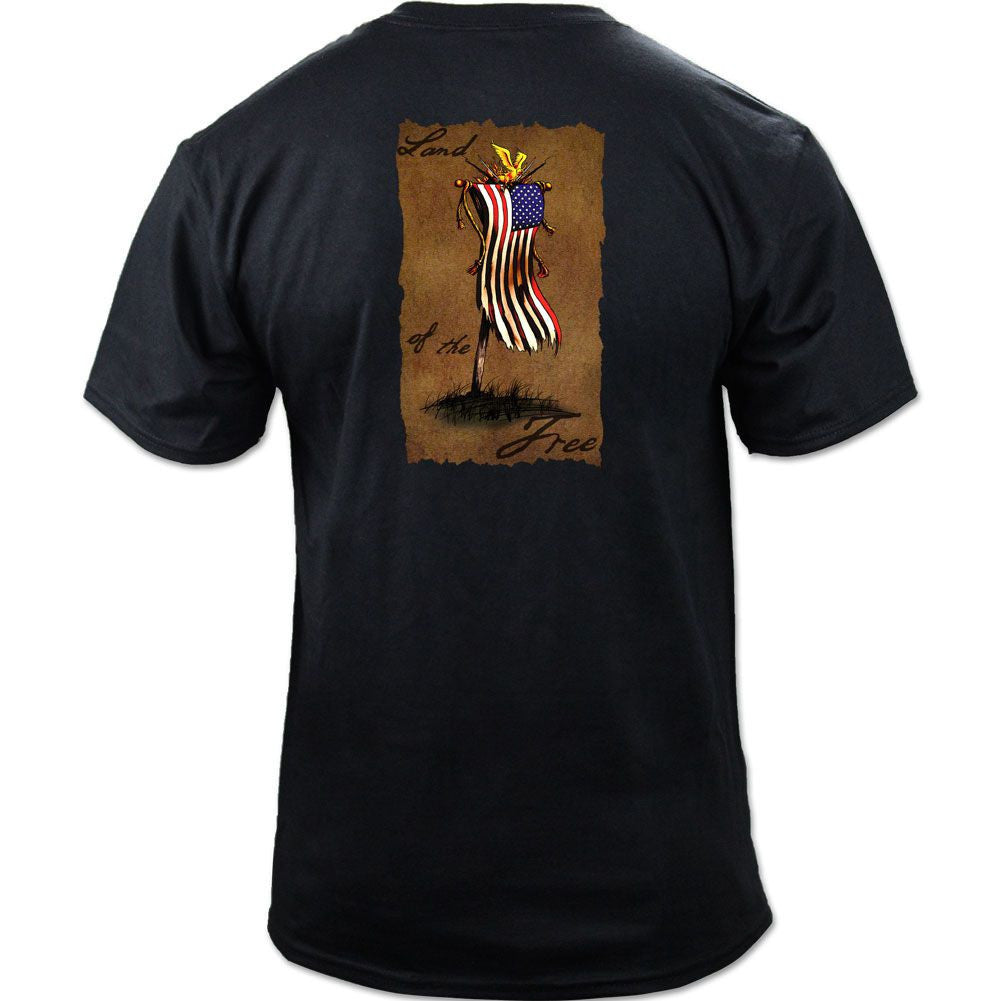 American Battle Standard black back