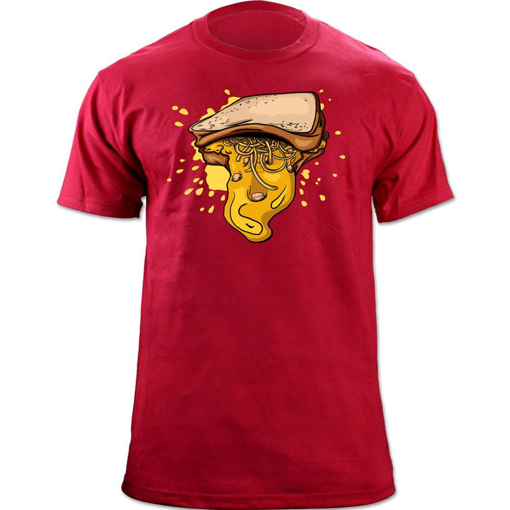 Soup Sandwich T-shirt - Red