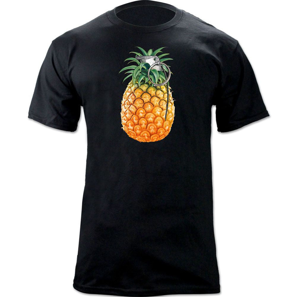 Pineapple Grenade T-Shirt - Black