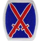 10th Mountain Division Class A Patch