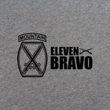 10th Mountain Division 11 Bravo T-Shirt