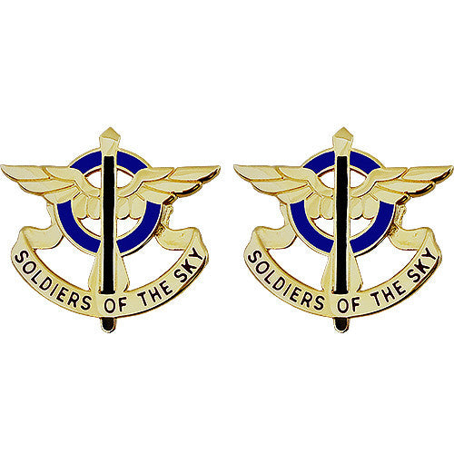 10th Aviation Regiment Unit Crest (Soldiers of the Sky)