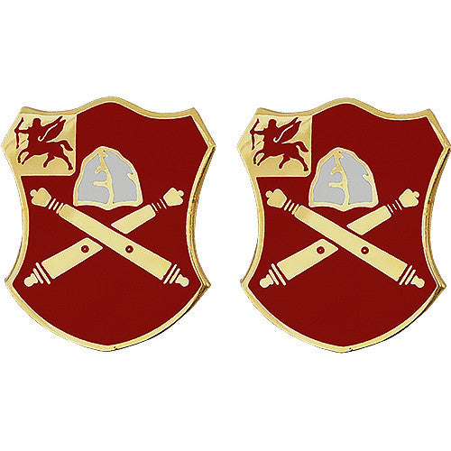 10th Field Artillery Regiment Unit Crest (No Motto)