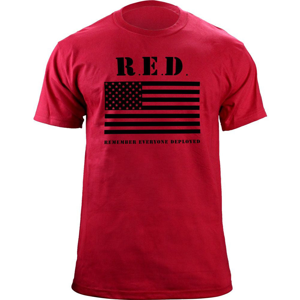 RED Flag T-Shirt - Red