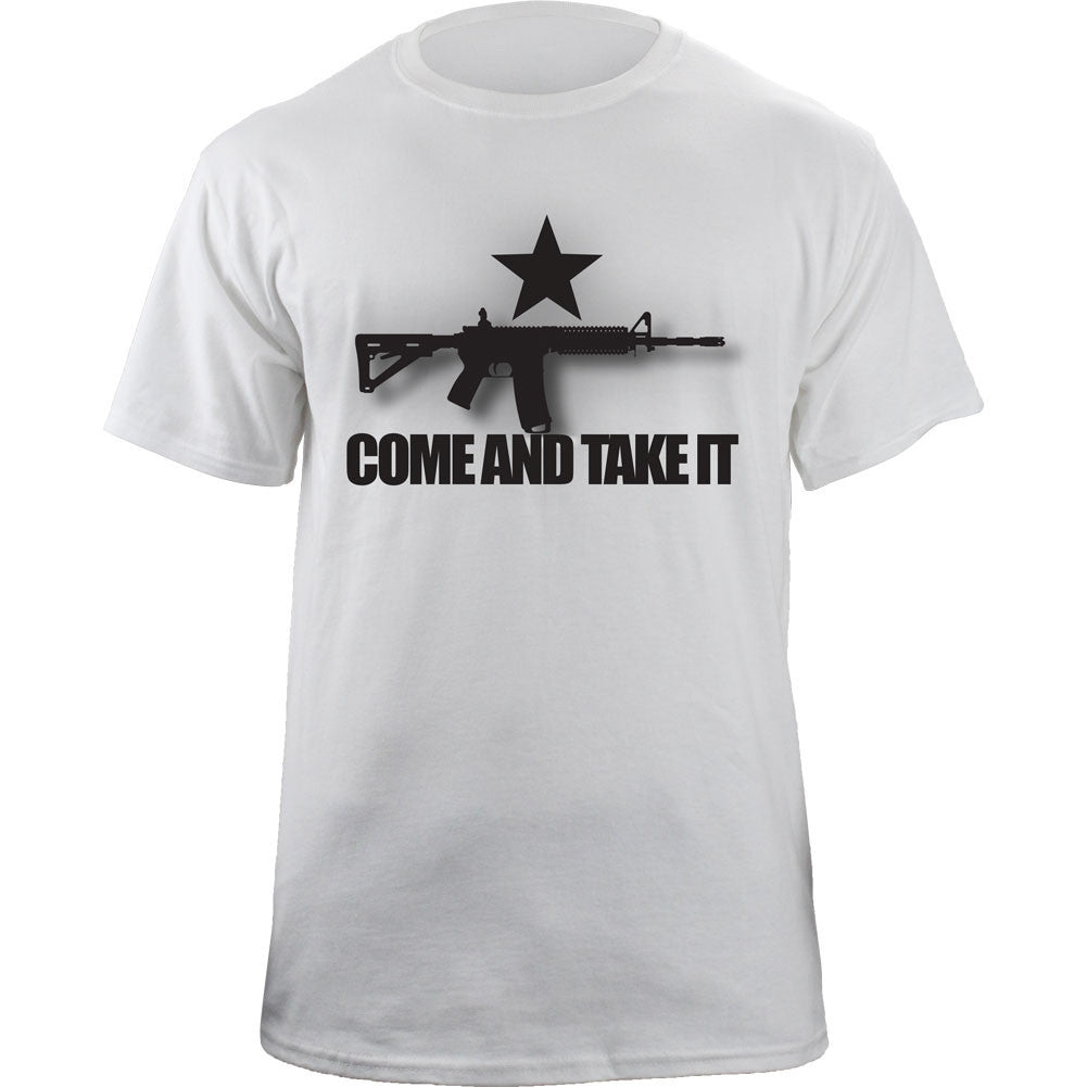 Come and Take It T-Shirt - White