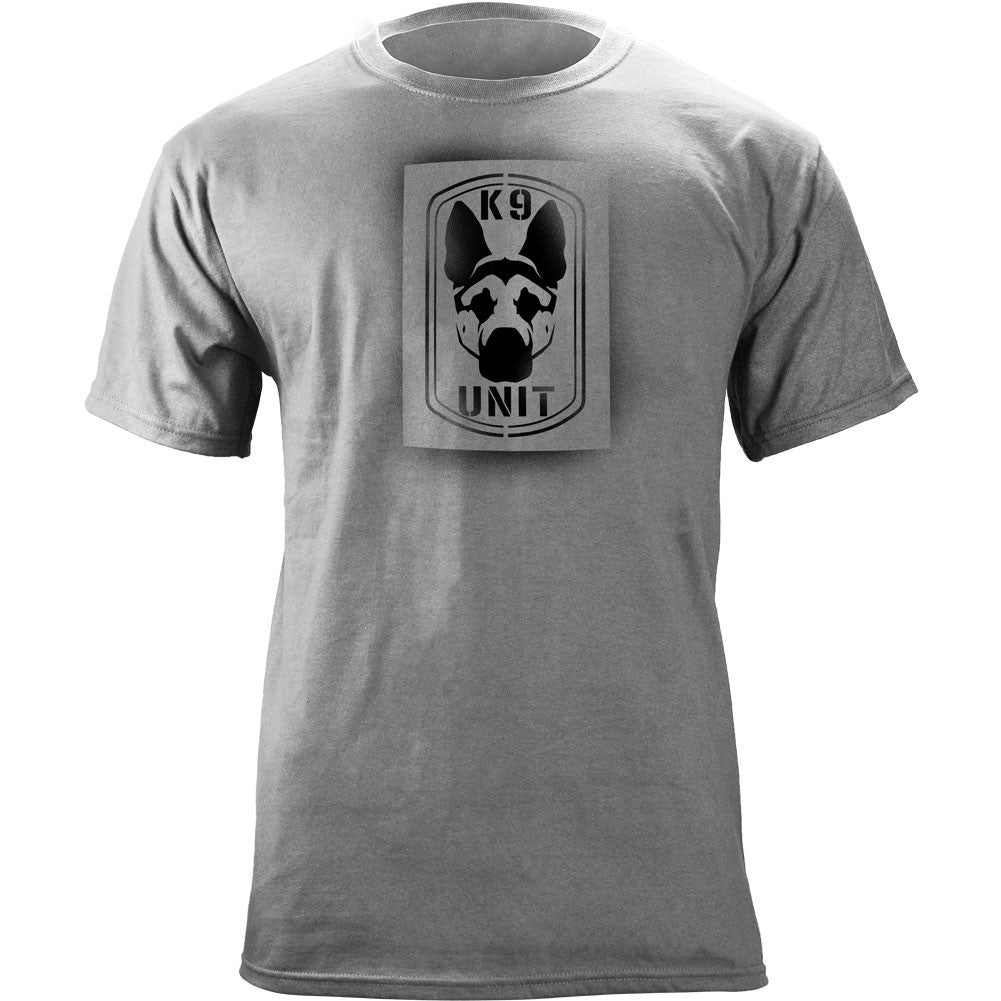 K-9 Unit T-Shirt - Heather Grey