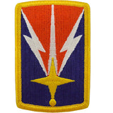 1107th Signal Brigade Class A Patch