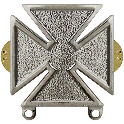 Army Marksman Weapons Qualification Badge - Nickel Finish