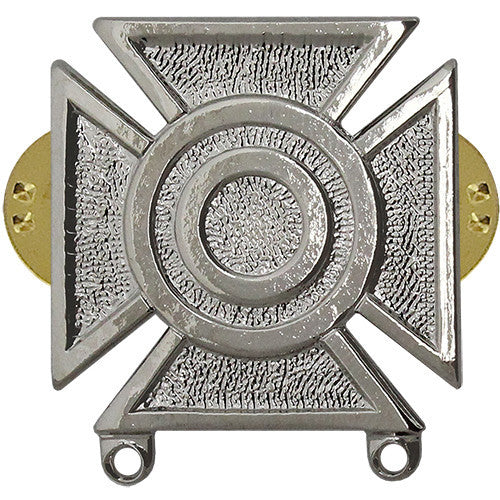Army Sharpshooter Weapons Qualification Badge - Nickel Finish