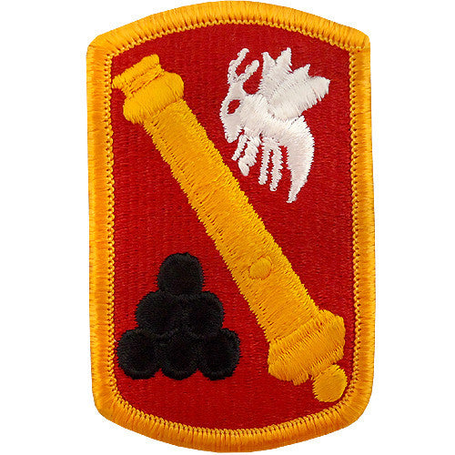 113th Field Artillery Brigade Class A Patch