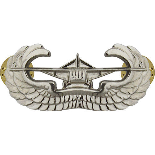Army Airborne Glider Badge (World War II) - Nickel Finish