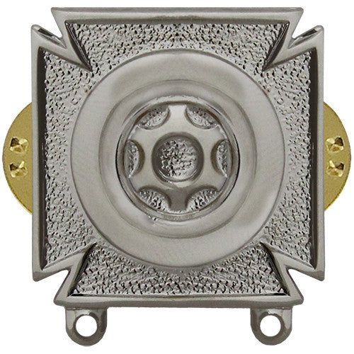 Army Driver and Mechanic Badge - Mirror / Chrome