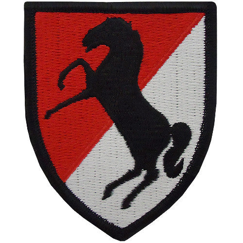 11th ACR (Armored Cavalry Regiment) Class A Patch