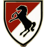 11th ACR (Armored Cavalry Regiment) Combat Service Identification Badge
