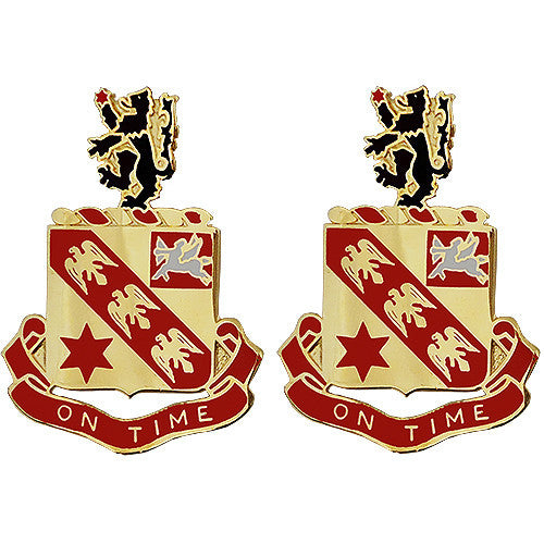 11th Field Artillery Regiment Unit Crest (On Time)