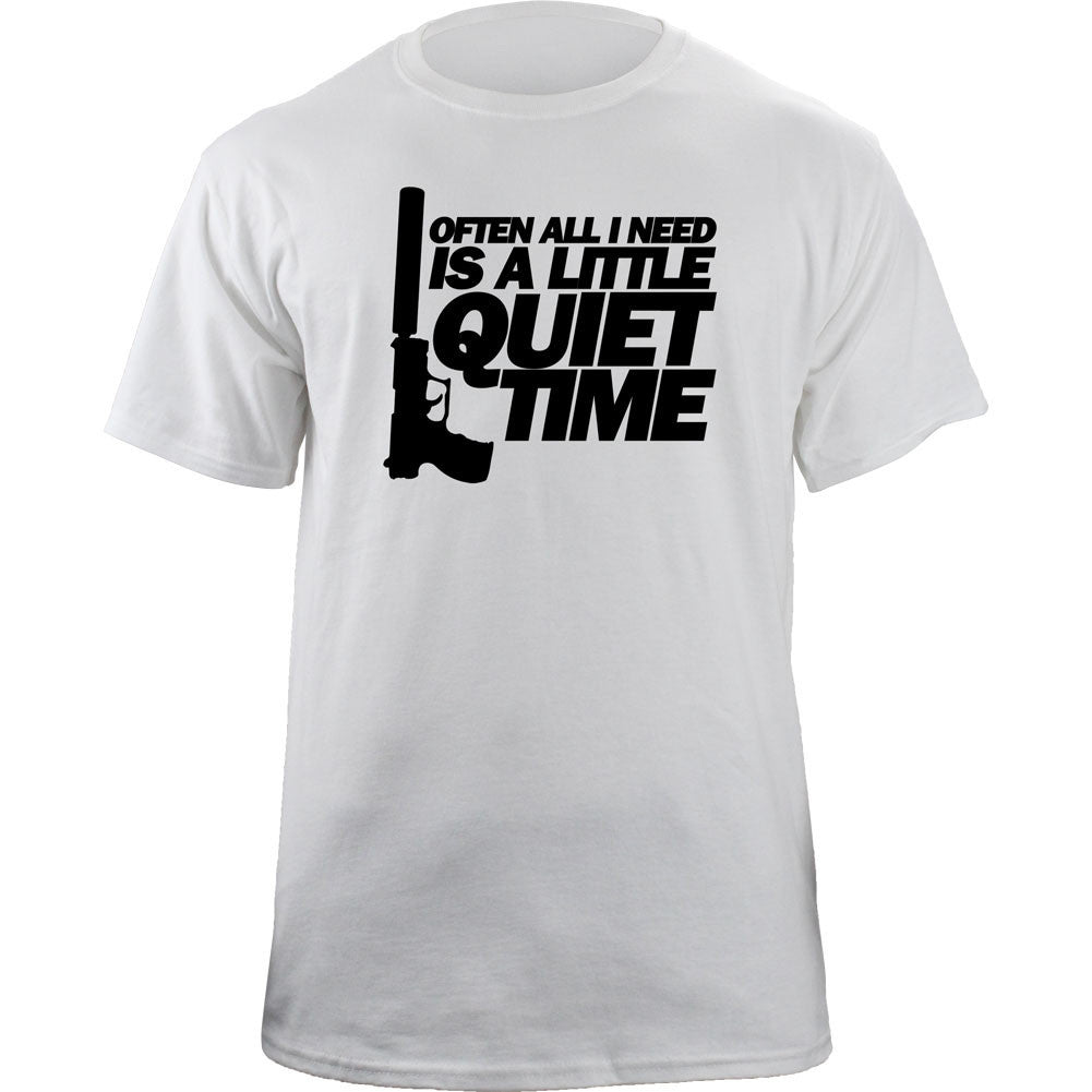 Quiet Time T-Shirt - White