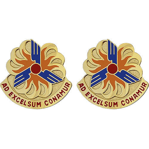 12th Aviation Brigade Unit Crest (Ad Excelsum Conamur)